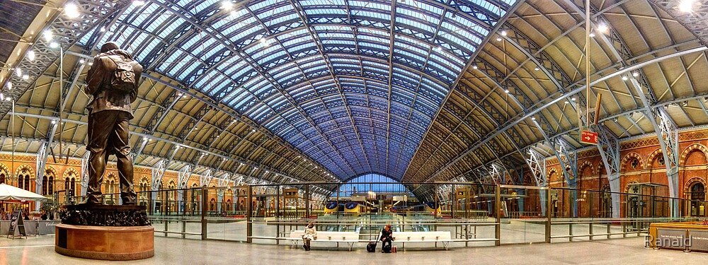 St Pancras by Ranald