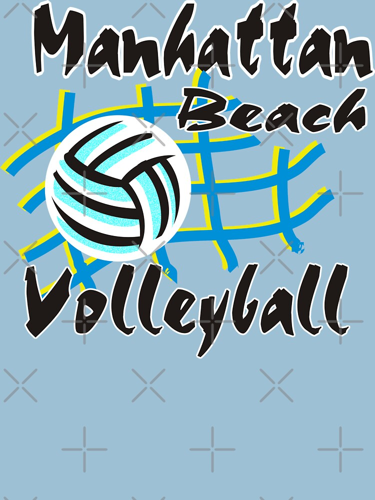 Manhattan Beach California Volleyball by SportsT-Shirts