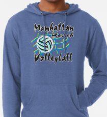 Manhattan Beach California Volleyball Lightweight Hoodie