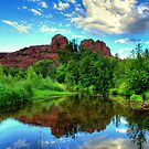 Sedona Red Rock Crossing by K D Graves Photography