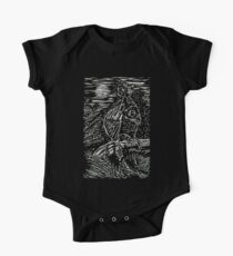 Owl within Tiger One Piece - Short Sleeve