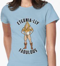 SHE-MAN: Eternia-lly Fabulous Women's Fitted T-Shirt