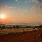 Outback sunset by Roger Neal