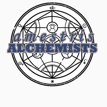 The Amestris Alchemists by drfrankensara