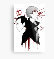 BBC Sherlock - The Reichenbach Fall Metal Print