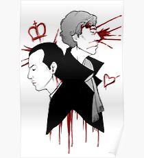 BBC Sherlock - The Reichenbach Fall Poster