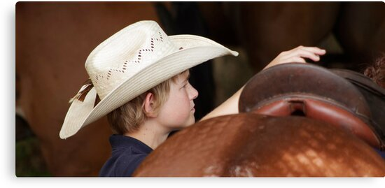 The Boy in the Cowboy Hat by Clare Colins