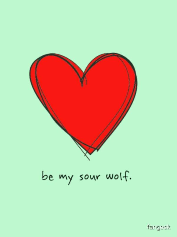 Be My Sour Wolf   Sterek / Teen Wolf Valentine By Fangeek