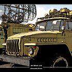 Art Work 116 Ural Truck by Alexander Drum