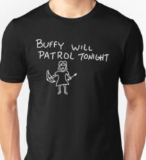 Patrolling Without a Voice Unisex T-Shirt