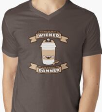 Drink of the Damned Men's V-Neck T-Shirt