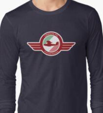 Crimson Pig Long Sleeve T-Shirt