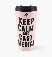Keep Calm and Cast Medica Travel Mug