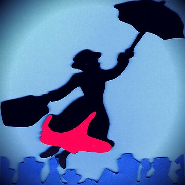 Mary Poppins In Flight by lilu1012