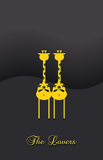 Pair of Giraffes VRS2 by vivendulies