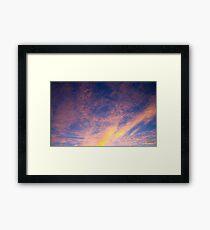 Rover Sky Framed Print