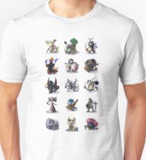 Final Fantasy Pokemon Collection Set 1 Unisex T-Shirt