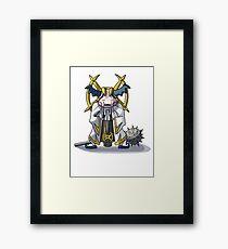Final Fantasy- Mr Mime Cleric Framed Print