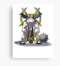 Final Fantasy- Mr Mime Cleric Canvas Print