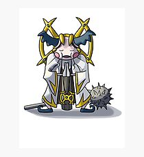 Final Fantasy- Mr Mime Cleric Photographic Print
