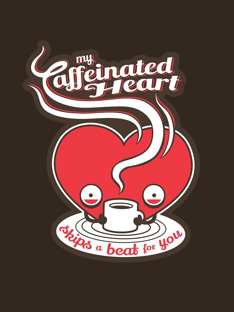 My Caffeinated Heart by murphypop
