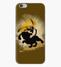 Super Smash Bros. Brown Duck Hunt Dog Silhouette iPhone Case