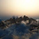 Pandora Landscape - Wasteland Mountains by EthanMcFenton