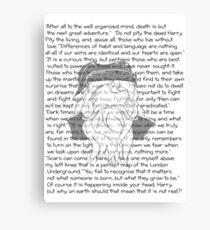 Dumbledore Canvas Print