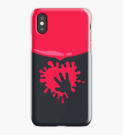 Whoops - Splash on the Hand VRS2 iPhone Case