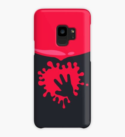Whoops - Splash on the Hand VRS2 Case/Skin for Samsung Galaxy