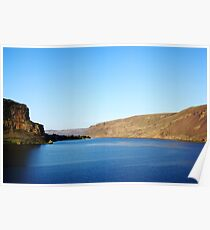 Coulee Lake Poster