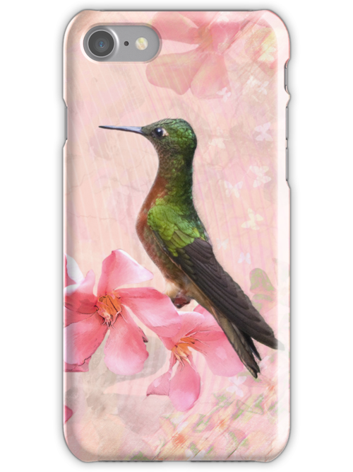 Primavera Rosa iPhone / iPod Case by Krys Bailey