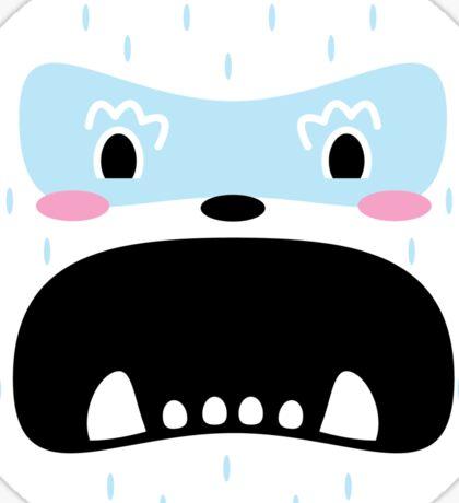 Grumpy Yeti Sticker