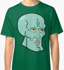 Handsome Squidward Classic T-Shirt