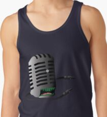 Microphone Monster Tank Top