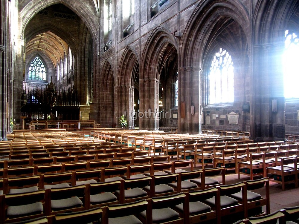 CHESTER CATHEDRAL by gothgirl