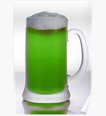 Green Beer Poster