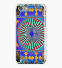 Playing Tricks iphone case-as prompted by One Mr Brown! iPhone Case/Skin