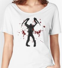 DeadSpace Necromorph [Bloody Slasher] Women's Relaxed Fit T-Shirt