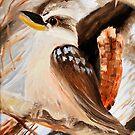 kookaburra two of tryptage by Glen Johnson