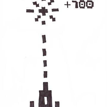 Rocket Ship- War EXPLOSION by Nerdettes