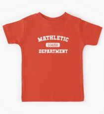 Mathletic Department Kids Tee