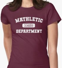Mathletic Department Women's Fitted T-Shirt