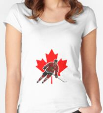 Jonathan Toews Women's Fitted Scoop T-Shirt