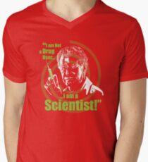 Walter Bishop - I am Not a Drug User...I am a Scientist! Mens V-Neck T-Shirt