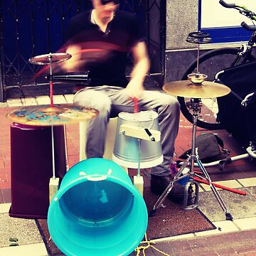 The Best Busker  by Padjer