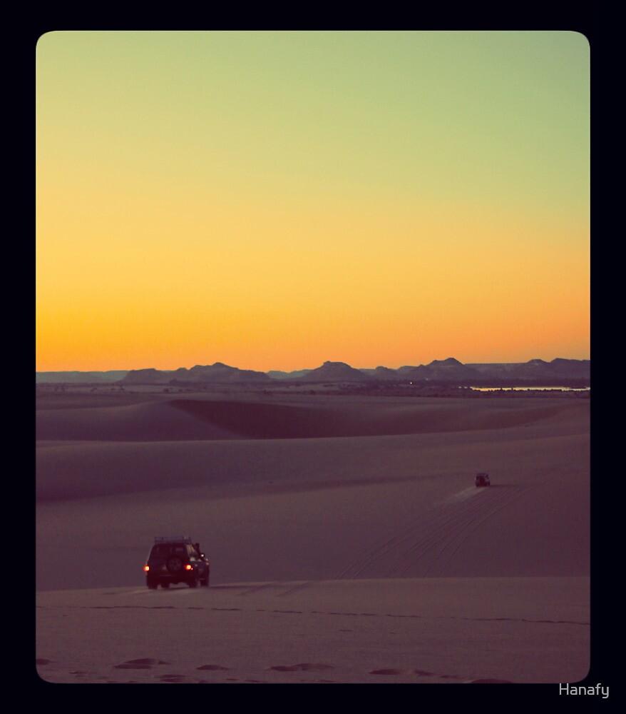 Sunset Safari by Hanafy