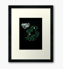 My Little Thestral  Framed Print
