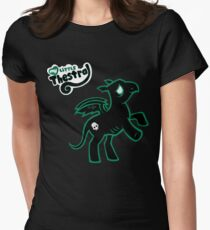 My Little Thestral  Womens Fitted T-Shirt