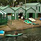 Antigua Boat Shed, Christchurch by Dilshara Hill